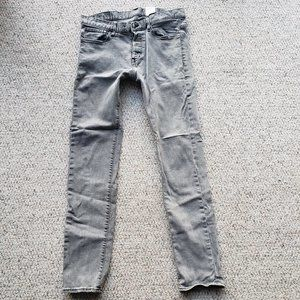 H&M Jeans | Hm Dark Gray Slim Low Waist Mens Sz 3634 | Poshmark
